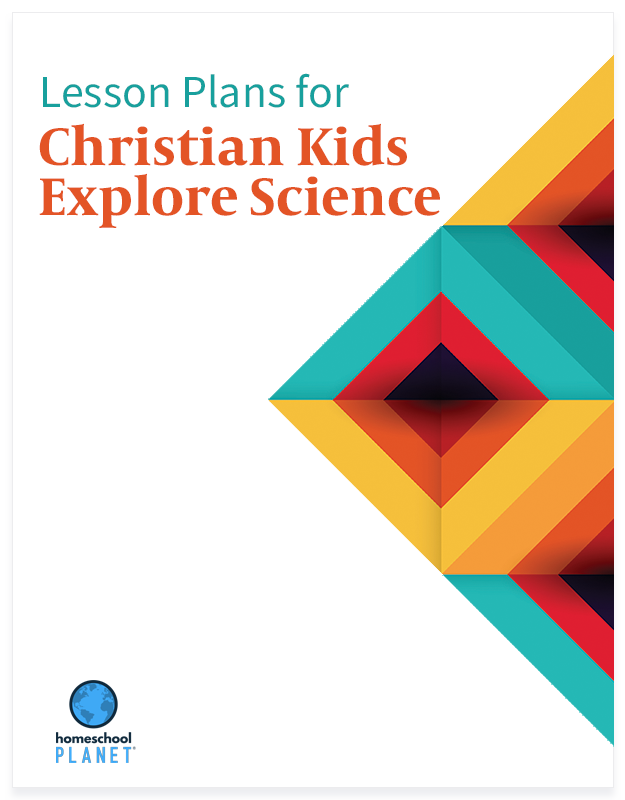 Homeschool Planet Christian Kids Explore Science lesson plans button