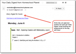 Homeschool Planner Apologia Math Daily Digest button