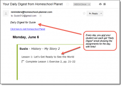 Homeschool Planet MasterBooks History Daily Digest button