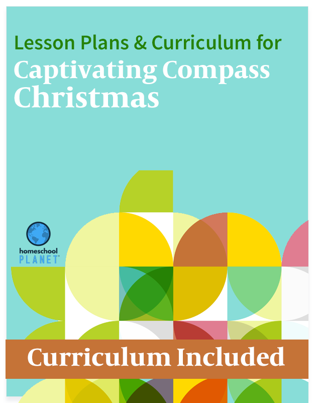 Homeschool Planner Captivating Compass Christmas lesson plans button