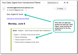 Homeschool Planner God's Great Covenant Daily Digest button
