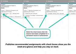 Homeschool Planner Writing & Rhetoric Weekly View button