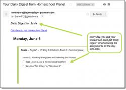 Homeschool Planet Writing & Rhetoric Daily Digest button