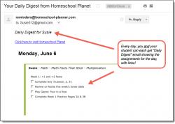 Homeschool Planner Math Facts That Stick Daily Digest button