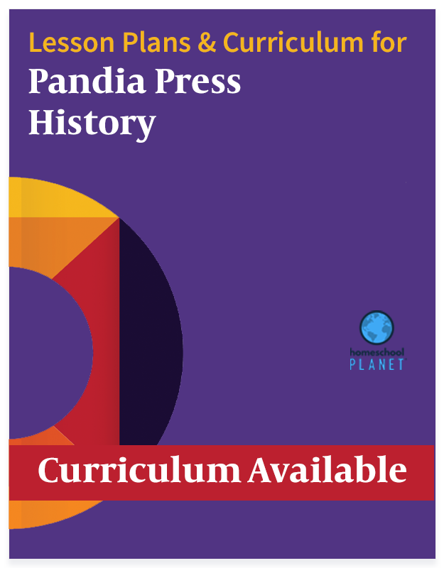 Homeschool Planner lesson plan & curriculum button for Pandia Press History