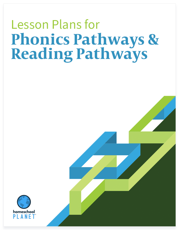 Phonics Pathways & Reading Pathways lesson plan button for Homeschool Planet