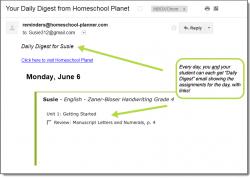 Zaner Bloser Handwriting Daily Digest