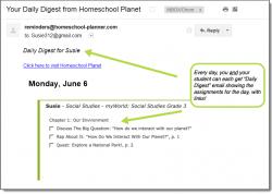 myWorld Social Studies Daily Digest
